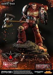 Warhammer 40.000: DoW 3 - Deluxe Space Marine Blood Raven Statue