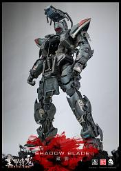 B/3 Collaboration Project Actionfigur FullMetal Ghost Shadow Bla
