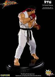 Pop Culture Shock Exclusive Ryu Ansatsuken Statue 1:4 EX