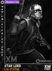 XM Studios Star Lord 1/4 Premium Collectibles Statue