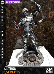 XM Studios Ultron 1/4 Premium Collectibles Statue