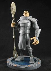 "Stargate SG-1 - 9"" Teal'c Limited Edition Animated Maquette"