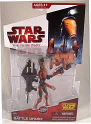 Rocket Battle Droid Clone Wars 2009 Animated Action Figure Hasbr