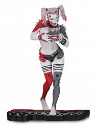 DC Comics: Harley Quinn Red White and Black Statue by Greg Horn