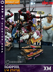 XM Studios Deadpool Ver. B 1/4 Premium Collectibles Statue