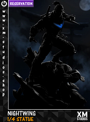 XM Studios Nightwing 1/4 Premium Collectibles Statue
