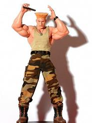 Guile Sideshow Exclusive Pop Culture Shock PF Statue