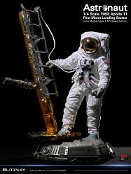 The Real: Astronaut Apollo 11 LM-5 A7L First Moon Landing 1:4 Sc