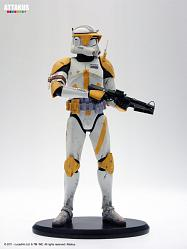 Star Wars Commander Cody ready for battle