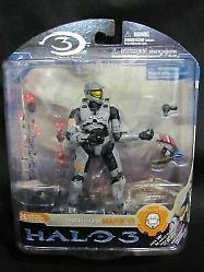 Halo 3 Series 3 Spartan Soldier Mark VI McFarlane Toys Action Fi