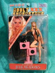 Adult Superstars 1 Houston Black Outfit Action Figure Julie Mead