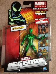 Marvel Legends Action Figures 2012 Wave 2 Big Time Spider-Man