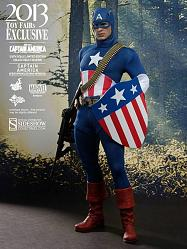 Captain America Movie Masterpiece Actionfigur 1/6 Star Spangled