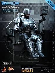 RoboCop MMS Diecast Actionfigur 1/6 RoboCop with Mechanical Chai