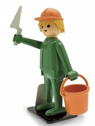 Playmobil Nostalgie Collection Statue Baumeister 25 cm