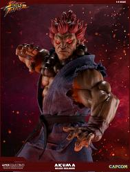 Street Fighter: Deluxe Exclusive Akuma 1:4 Scale Statue