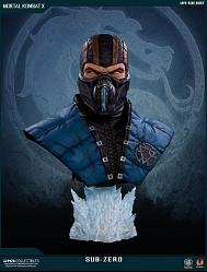 Mortal Kombat X: Sub-Zero Lifesize Bust - Retail Version