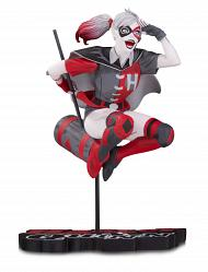 DC Comics: Harley Quinn Red White and Black Statue by Guillem Ma