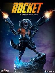Marvel: Guardians of the Galaxy - Rocket Raccoon Statue