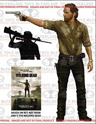 The Walking Dead: 10 inch Rick Grimes Deluxe Figure