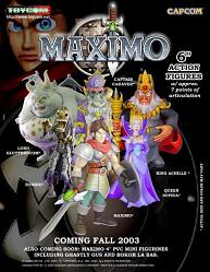 Maximo 16cm Actionfiguren Serie 1 6er Set