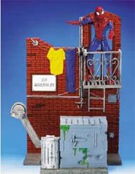 Spiderman Classic Alley Way International Playset