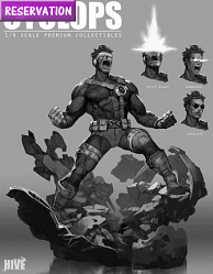 XM Studios Cyclops 1/4 Premium Collectibles Statue Reservation