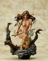 Fantasy Figure Gallery: Monica's Axe (Boris Vallejo)