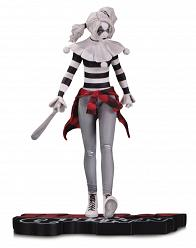 DC Comics: Harley Quinn Red White and Black Statue by Steve Pugh