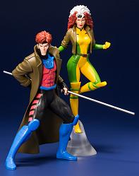 Marvel: X-Men 92 - Gambit and Rogue 2-Pack Artfx+ PVC Statue
