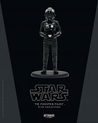 Tie Fighter Pilot Star Wars Statue
