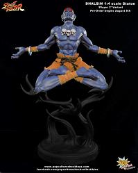 Dhalsim 1:4 - Player 2 Ex