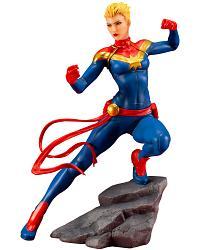 Marvel: Avengers - Captain Marvel 1:10 Scale PVC Statue