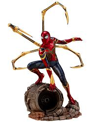Marvel: Avengers Infinity War - Iron Spider-Man 1:10 Scale PVC S