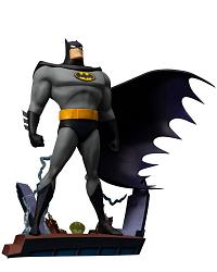 DC Universe: Batman Animated - Opening Sequence Ver. ARTFX+ PVC
