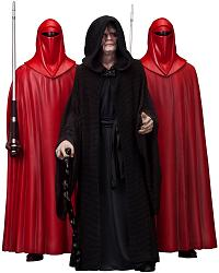 Star Wars: Emperor Palpatine and Royal Guard Artfx+ PVC Statue 3