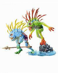World of Warcraft S4 Murloc 2-pack: Fish-eye and Gibbergill AF