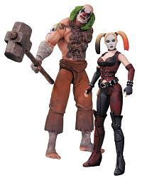 Batman Arkham City Actionfiguren Doppelpack Mr. Hammer & Harley