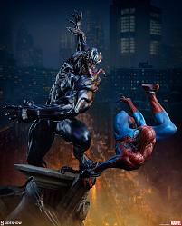 Marvel: Spider-Man vs Venom Maquette