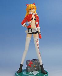 Evangelion EX Christmas Figure Asuka Only (Arcade Prize)