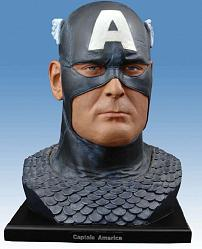 Alex Ross Captain America Head Bust