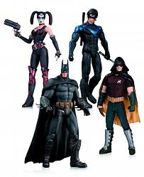 Batman Arkham City Actionfiguren 4er-Pack 17 cm