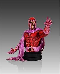 Marvel Villains: Magneto Zombie Mini Bust