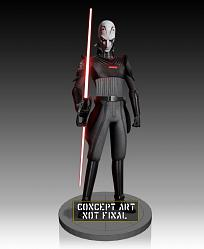 Star Wars Rebels: Inquisitor Maquette