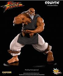 Street Fighter GOUKEN - STRONG FIST 1/4 Statue EX