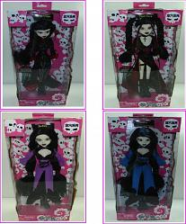 "Goth 12"" Fashion Doll Asian Exclusive Penelope Fabriquez"