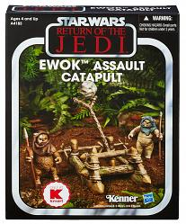 Star Wars Vintage Collection Ewok Assault Catapult Pack Exclusiv