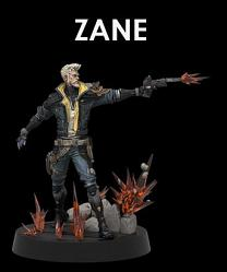 Borderlands 3: Figures of Fandom - Zane 9 inch PVC Statue