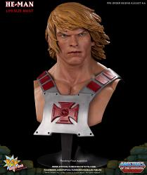 Masters of the Universe: He-Man 1:1 scale bust