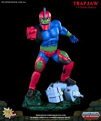 Masters of the Universe: Trapjaw 1/4 scale Statue